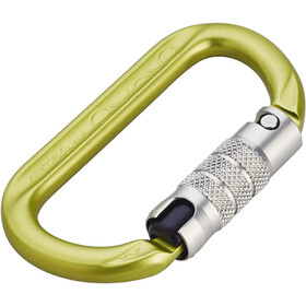 AustriAlpin Ovalo 2-Way Autolock Carabiner yellow anodized
